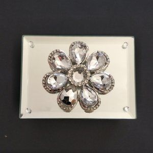 Z Gallerie Georgous New Mirrored Trinket Box